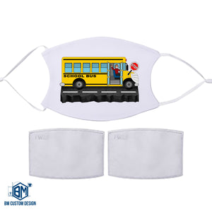 School Bus Driver Face Mask with Filter