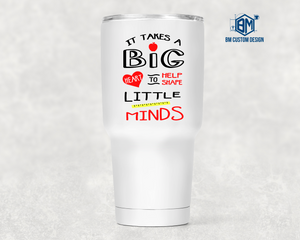 Personalized 30oz Tumbler for Teacher