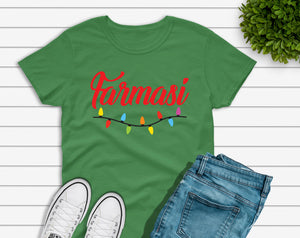 Farmasi Custom T-Shirt Christmas Lights