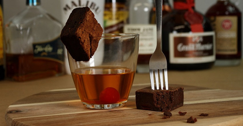 Brownies in Classic or Boozy Flavors as gifts, favors or as a treat