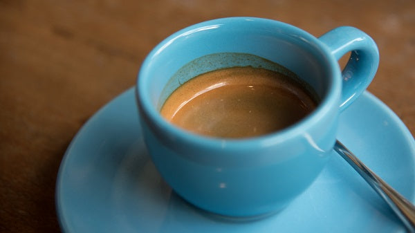 How To Make Cuban Coffee - Blue Cup
