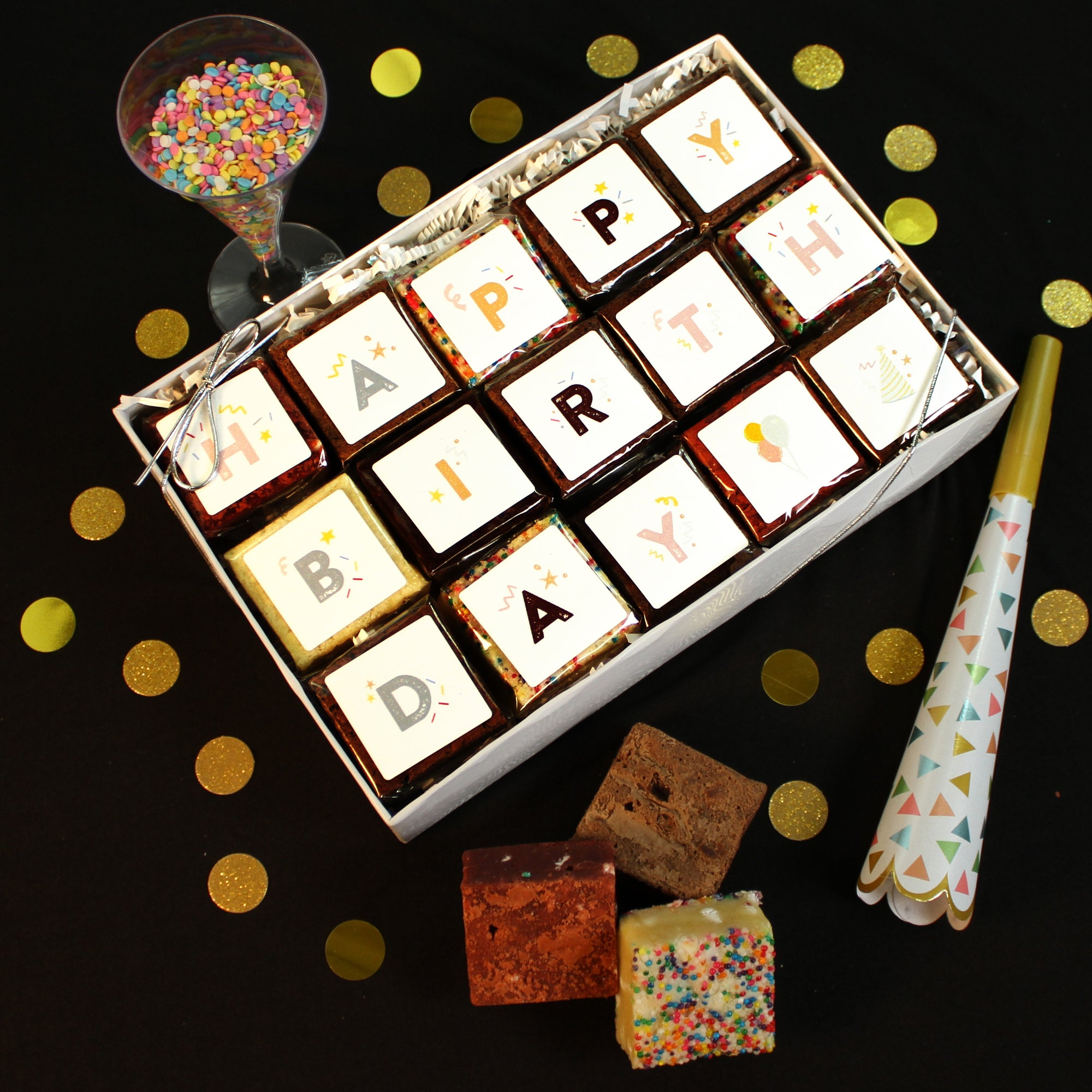 Delicous Birthday Gift. Birthday BrownieGram-Small Batch Brownies