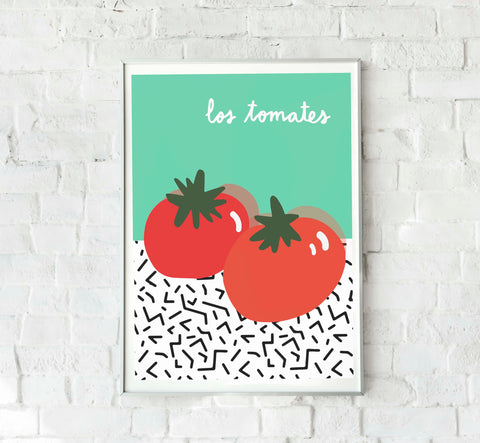 Poster Los Tomates