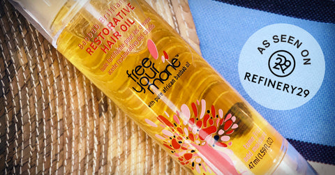 Free Your Mane Baobab Brilliant Restorative Hair Oil