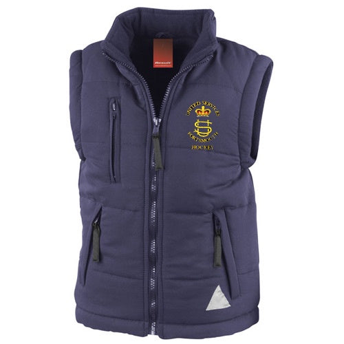 United Services Portsmouth Hockey Body Warmer