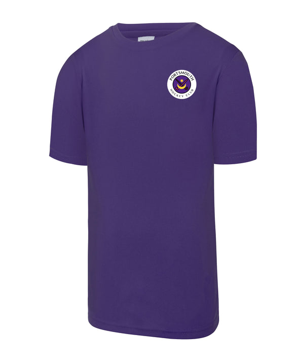 Portsmouth HC Junior Training T Shirt