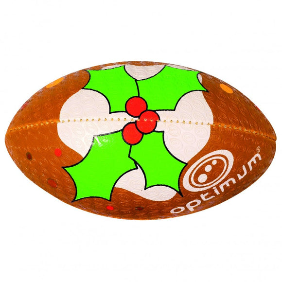 Christmas Pudding rugby ball