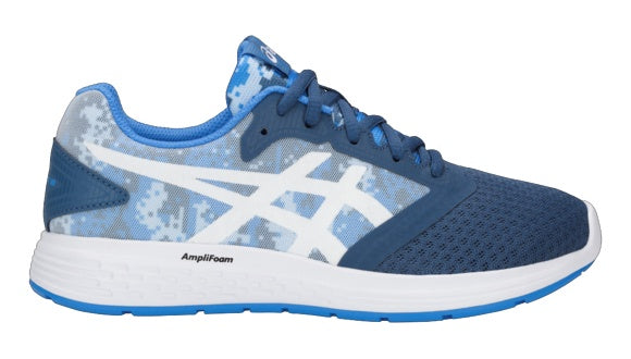 asics patriot 10 junior running shoes que es