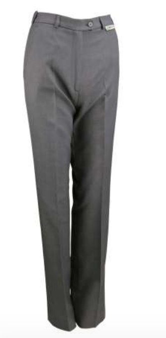 Ladies Grey Stretch Slacks