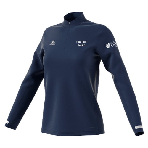 UoC Institute of Sport Womens 1/4 Zip Performance Top