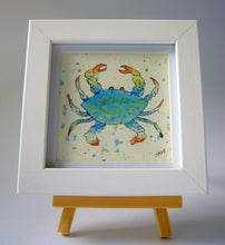 Load image into Gallery viewer, Mini Crab in blue