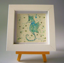 Load image into Gallery viewer, Mini Seahorse in blue
