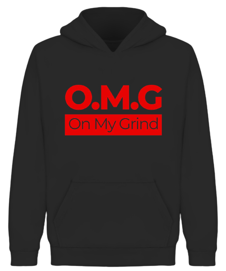 On My Grind Hoodie - Wiz White Collection LLC