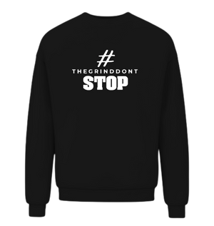 Open image in slideshow, The Grind Don't Stop Sweatshirt - Wiz White Collection LLC