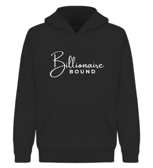 Open image in slideshow, Billionaire Bound Hoodie - Wiz White Collection LLC