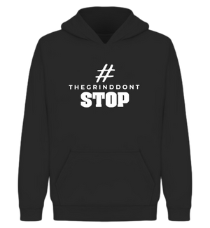 Open image in slideshow, The Grind Don't Stop Hoodie - Wiz White Collection LLC