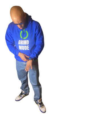 Open image in slideshow, Grind Mode Hoodie - Wiz White Collection LLC