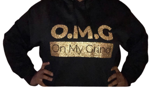 Open image in slideshow, On My Grind Hoodie - Wiz White Collection LLC