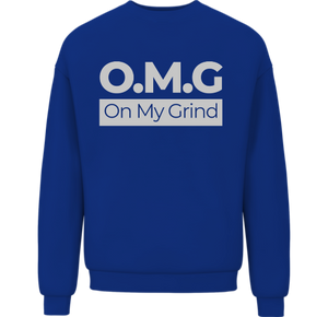 Open image in slideshow, On My Grind Sweatshirt - Wiz White Collection LLC