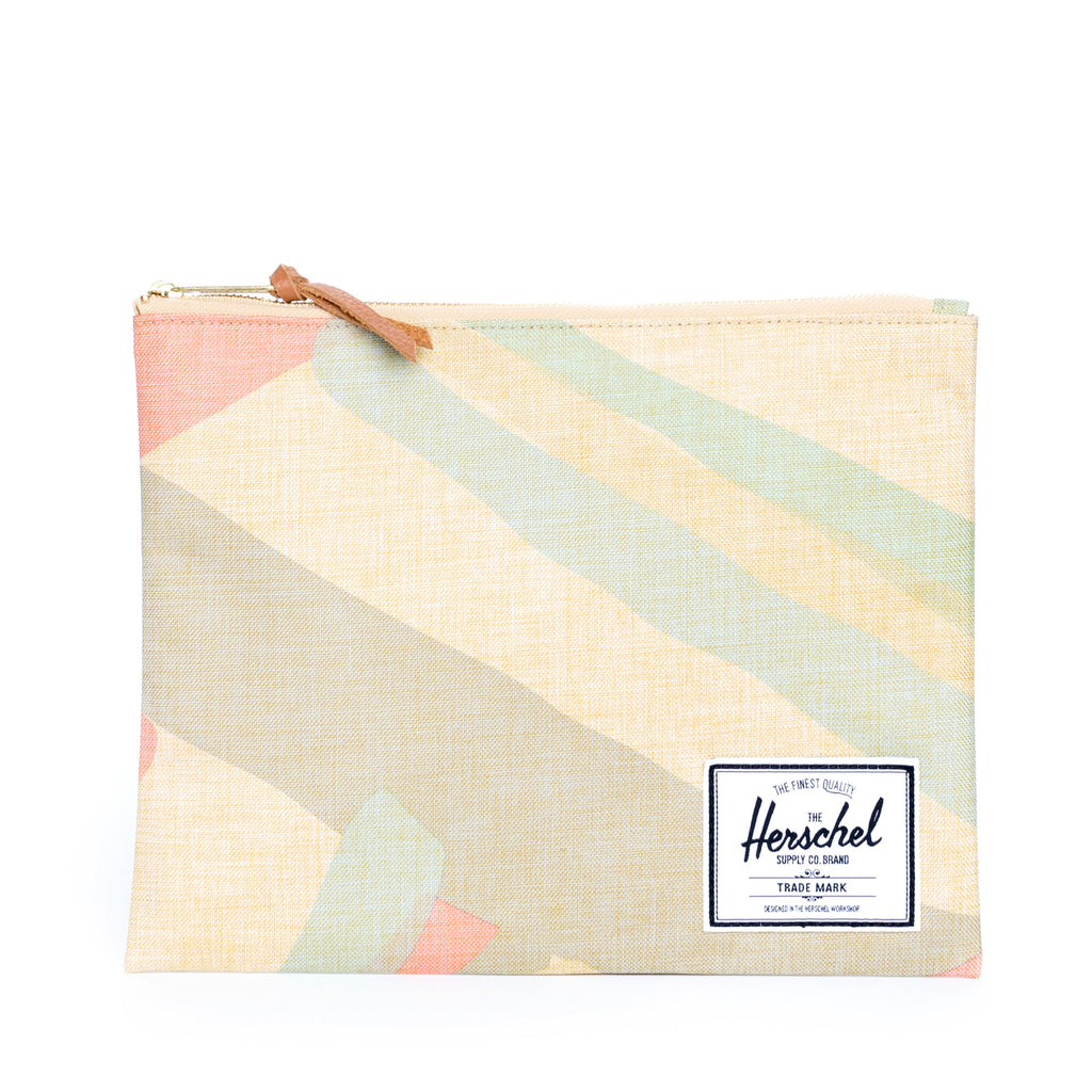 Herschel Large Network Natural Portal Pouch
