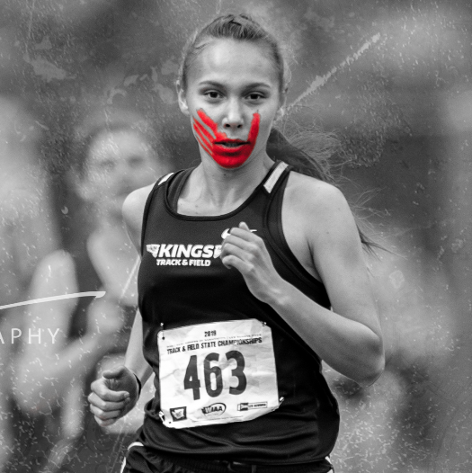 ESPN - Champion runner turns podium into platform for Indigenous Women (MMIW)