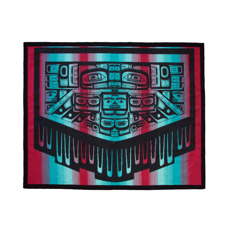 """Blanket of Knowledge"" Wool Blanket"