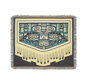 Blanket of Knowledge Throw Blanket