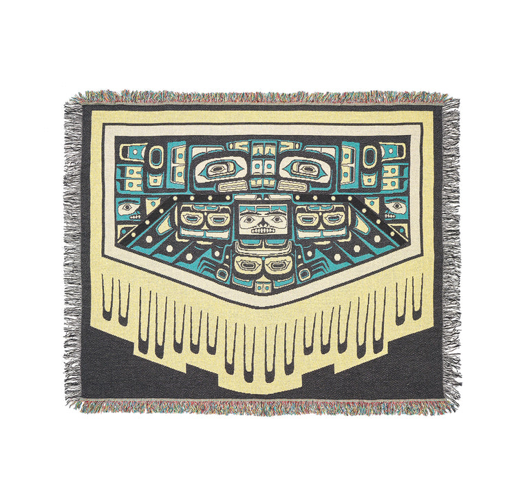 """Blanket of Knowledge"" Throw Blanket"
