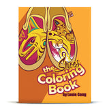 Nooksack designed children and youth coloring book by Eighth Generation and Native artist Louie Gong
