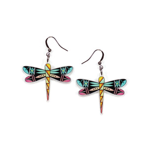 Dancing Dragonflies Earrings