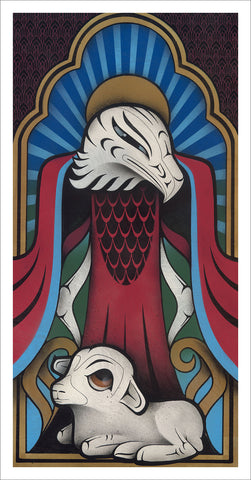 Sister Eagle - Limited Edition Giclee Print