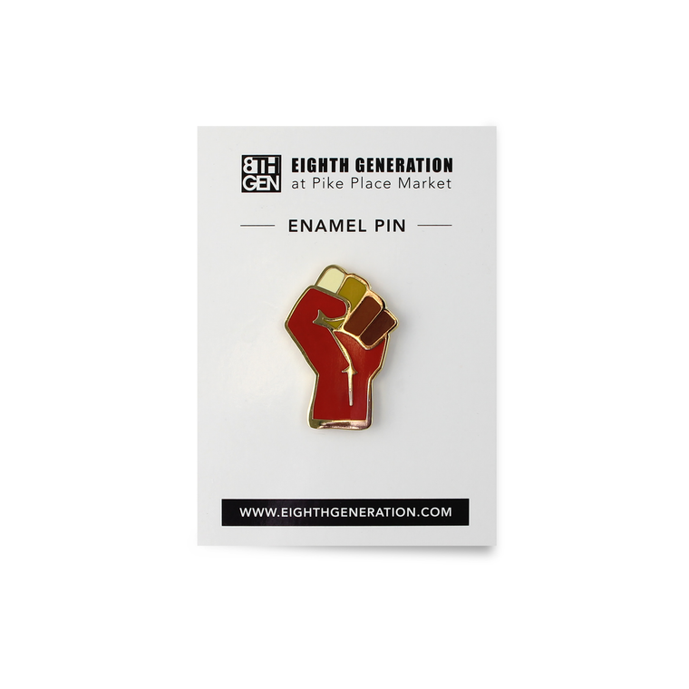 Stronger Together Enamel Pin