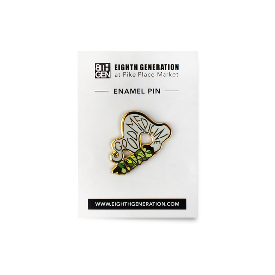 Good Medicine Enamel Pin