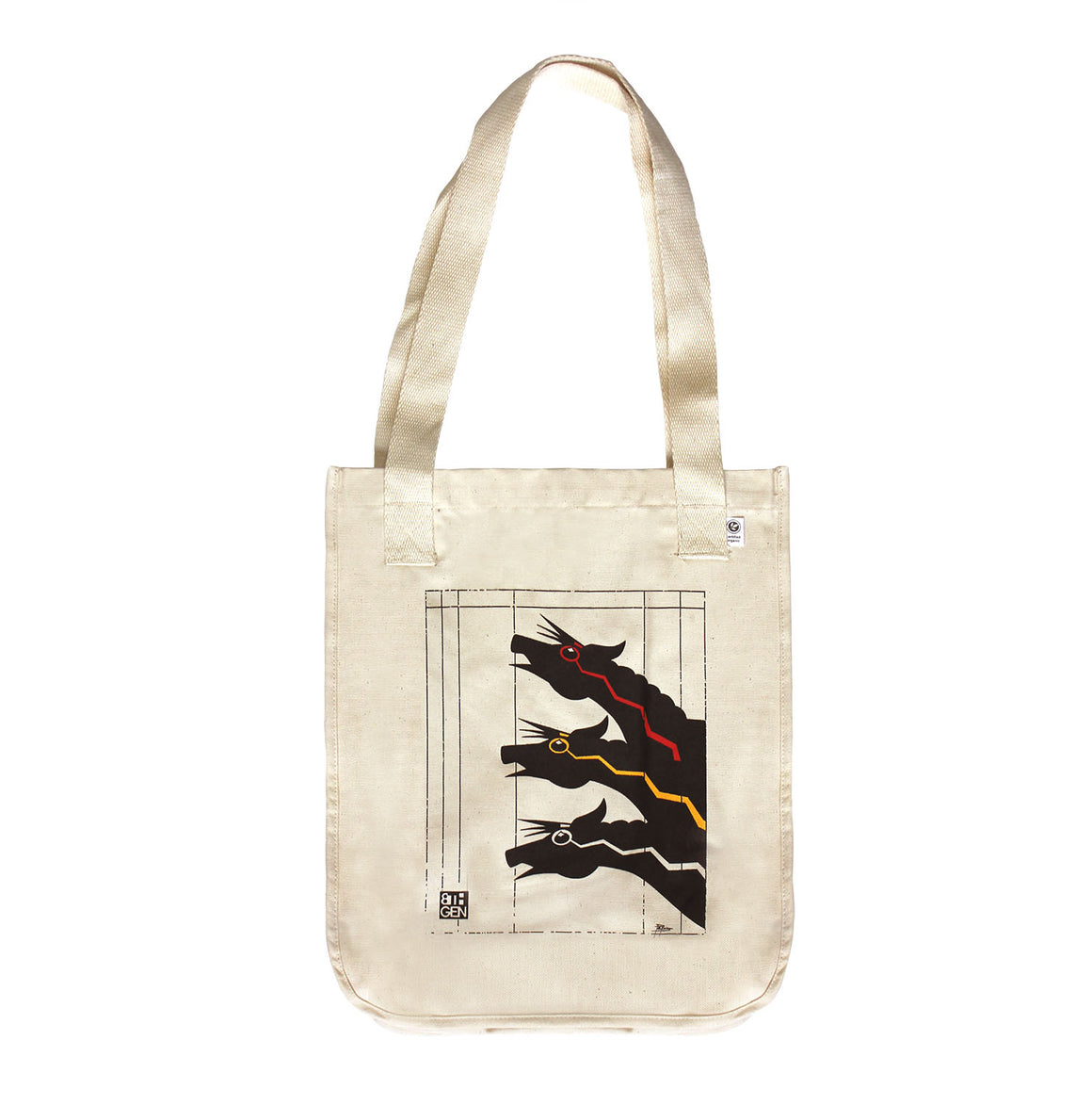 Lightning Horse Tote Bag