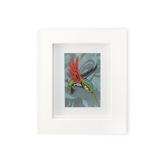 """Good Day, Bad Day"" Mini Framed Print"