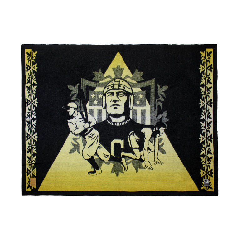 """All Around Excellence"" Special Edition Wool Blanket"
