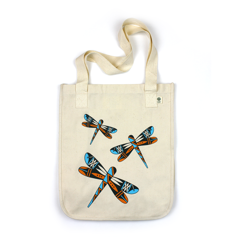 Dancing Dragonflies Tote Bag