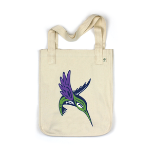 Happy Hummingbird Tote Bag