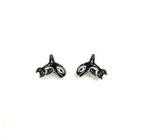 Orca Post Earrings