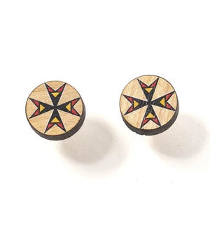 Morning Star Post Earrings