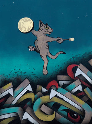 Rez Cat Forgives His Enemies - Limited Edition Giclee Print