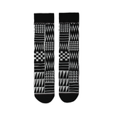 """Coast Salish Pattern"" Crew Socks"