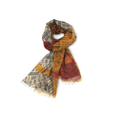 """Salish Seasons"" Light Wool Scarf"