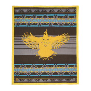 Warrior Up Wool Blanket