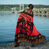 """Thunderbird Arrives"" Wool Blanket"
