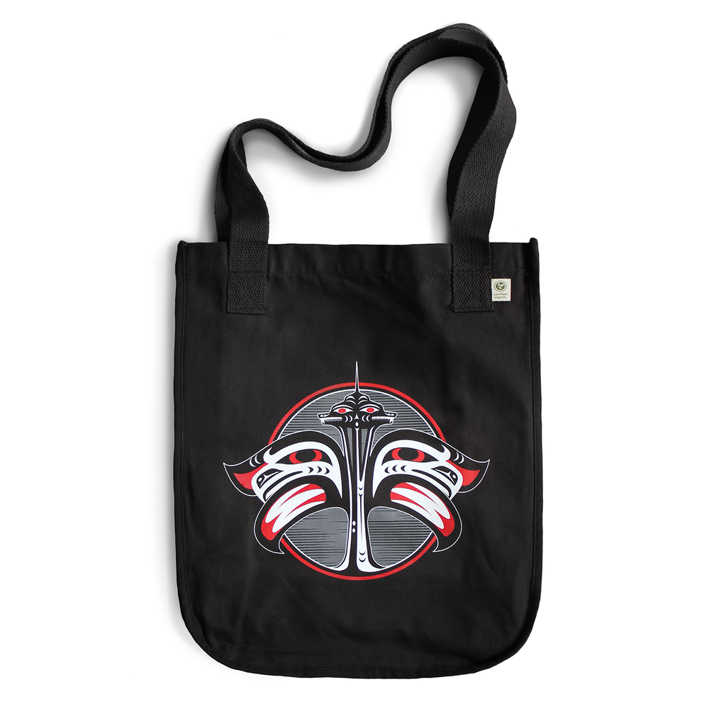 Our Home Tote Bag - Black