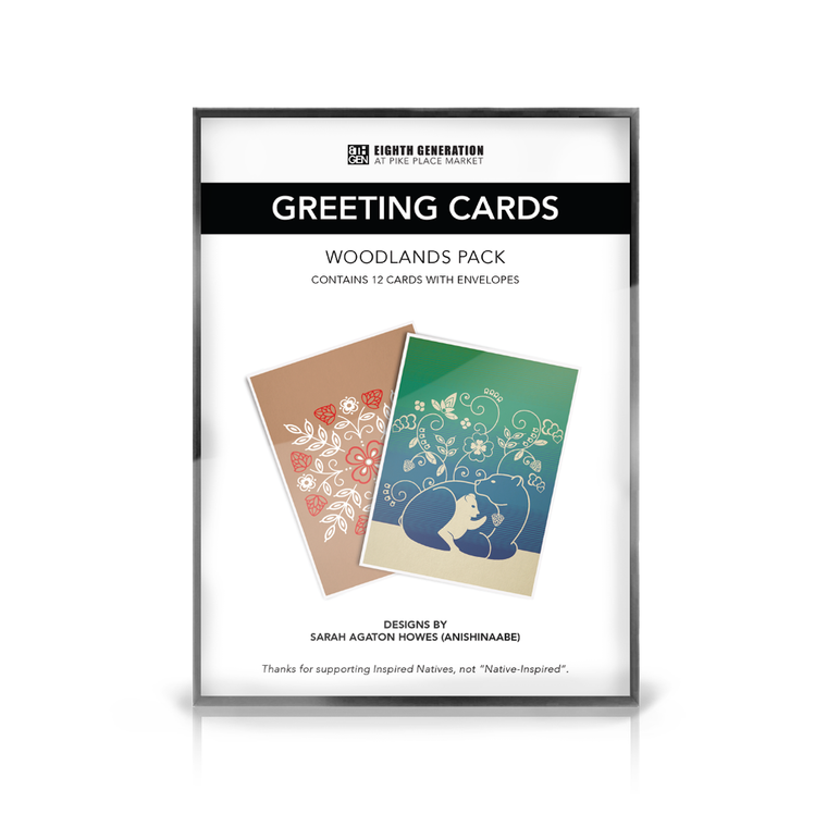 """Woodlands"" Greeting Card Pack (x12)"