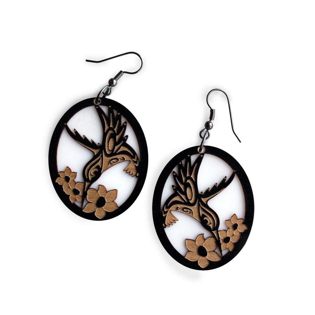 Good News - Mixed Media Earring