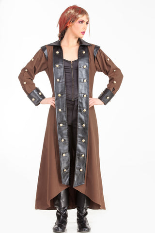 Lieutenant Steampunk Coat