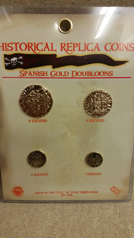 Spannish Gold Doubloons